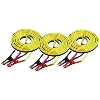 Battery Cables 12foot 8 Gauge 400 Amp - 3 Pack