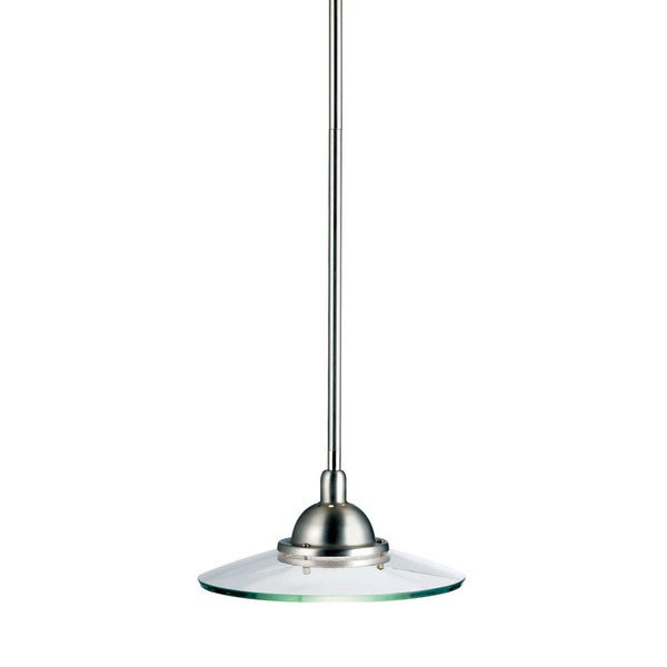 Kichler Lighting Galaxie Collection 1-light Brushed Nickel Mini Pendant - N/A