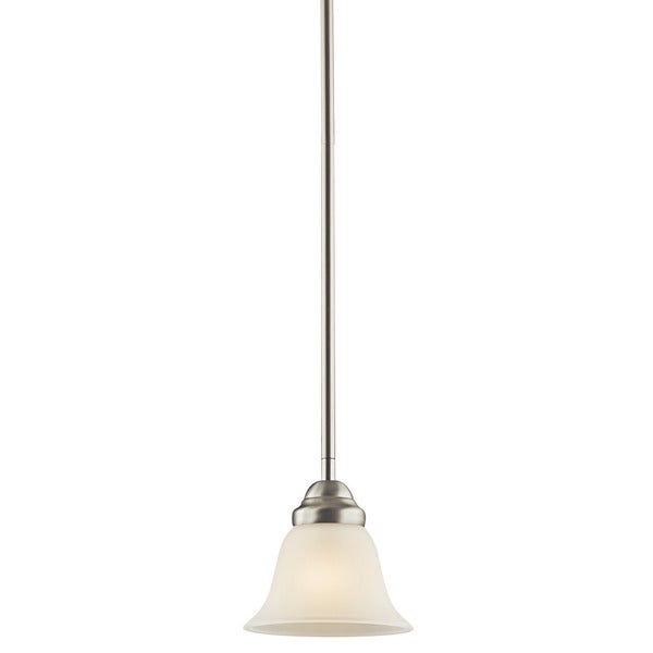 Kichler Lighting Wynberg Collection 1-light Brushed Nickel Mini Pendant