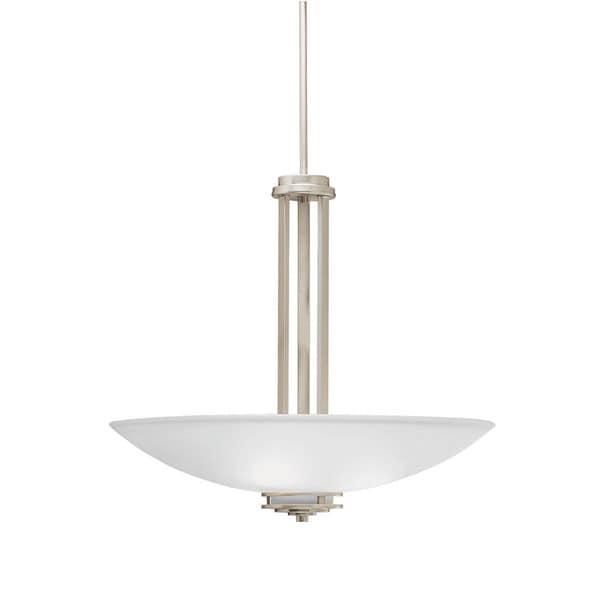 Kichler Lighting Hendrik Collection 3-light Brushed Nickel Pendant - N/A