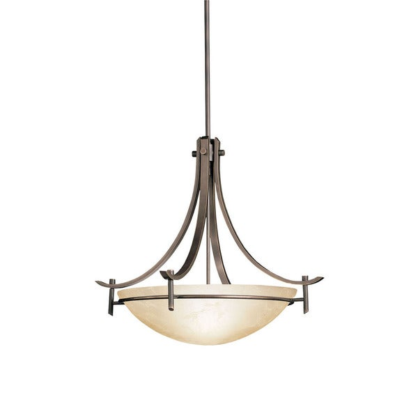 Kichler Lighting Reviews: Shop Kichler Lighting Olympia Collection 3-light Olde