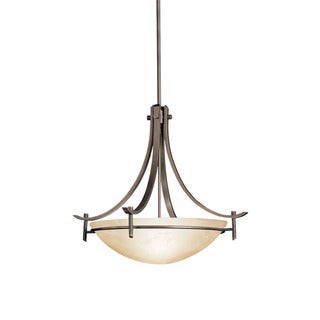 Kichler Lighting Olympia Collection 3-light Olde Bronze Pendant