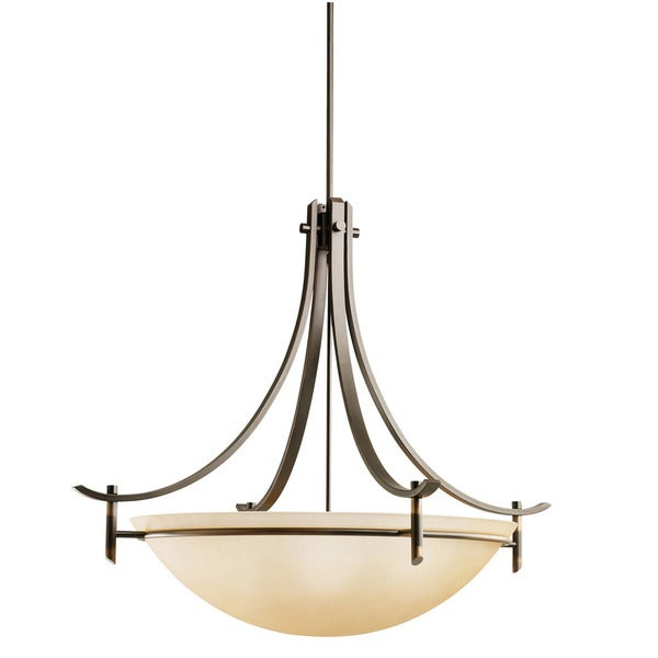 Kichler Lighting Olympia Collection 5-light Olde Bronze Pendant