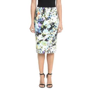 Romeo + Juliet Couture Floral Pencil Skirt