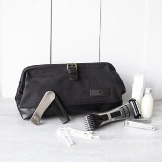 Personalized Men's Black Travel Dopp Kit (More options available)
