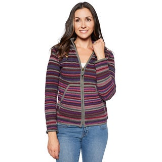 Laundromat Women's Geneva Multicolored Wool Sweater (3 options available)