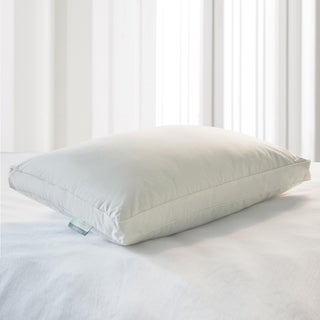 kathy ireland HOME Eco Unbleached Cotton Down Blend Pillow - White