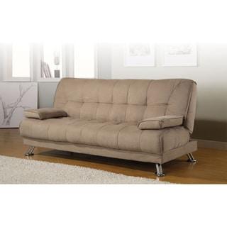 Coaster Company Tan Microfiber Sofa Bed