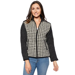 Laundromat Women's Agatha Zip-up Sweater (4 options available)