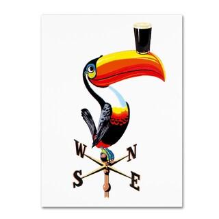 Guinness Brewery 'Guinness V' Canvas Art