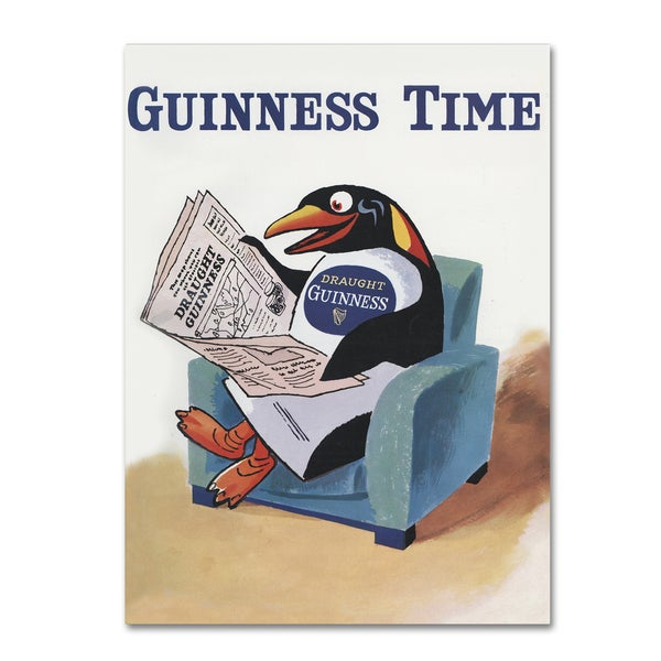 Guinness Brewery 'Guinness Time II' Canvas Art - Multi