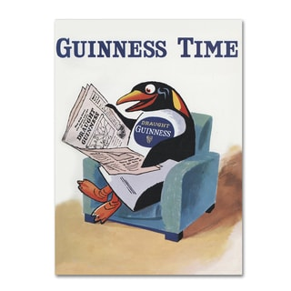 Guinness Brewery 'Guinness Time II' Canvas Art