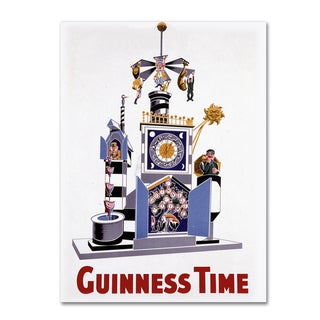 Guinness Brewery 'Guinness Time I' Canvas Art