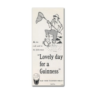 Guinness Brewery 'Lovely Day For A Guinness III' Canvas Art
