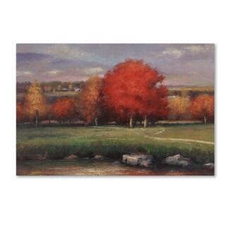 Daniel Moises 'Sunset' Canvas Art