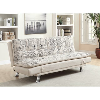 Coaster Company Beige Fabric Sofa Bed