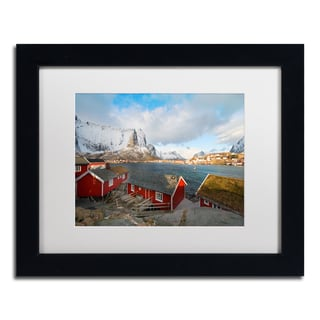 Philippe Sainte-Laudy 'Rorbus' Matted Framed Art