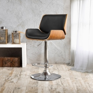 Corvus Wendy Mid Century Adjustable Swivel Bar Stool