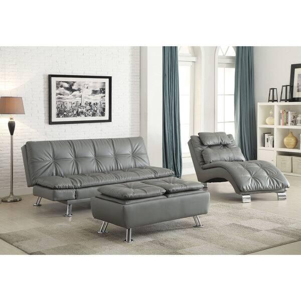 Coaster Company Dilleston Grey Sofa Bed