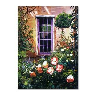 David Lloyd Glover 'Tuscany Villa Garden' Canvas Art
