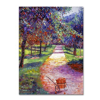 David Lloyd Glover 'French Apple Orchards' Canvas Art