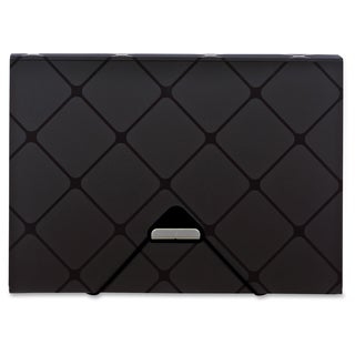 Pendaflex 13-pocket Poly Expandable File - Black