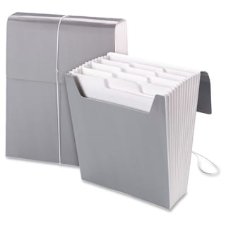 Smead Organized Up Vertical Expanding Files - Cool Gray