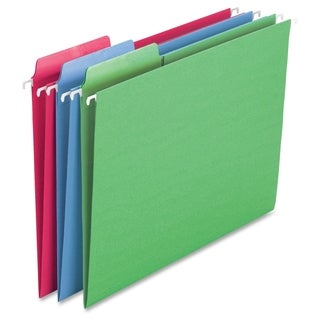 Smead Erasable FasTab Hanging Folder 64031 - Assorted (18/Box)