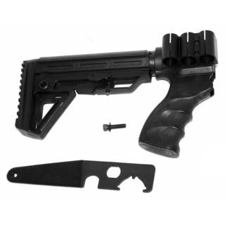 Trinity 6-position Adjustable Stock for Remington 870 with Grip and Shell Holder Kit