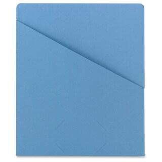 Smead Slash Jacket 75431 - Blue (25/Pack)