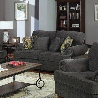 Coaster Company Grey Chenille Loveseat or Sofa