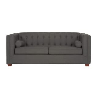 Coaster Company Grey Linen Loveseat/Sofa
