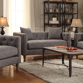 Coaster Company Grey Sofa/ Loveseat