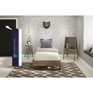 Signature Sleep Tranquility 10-inch Memory Foam Twin Mattress with CertiPUR-US Certified Foam