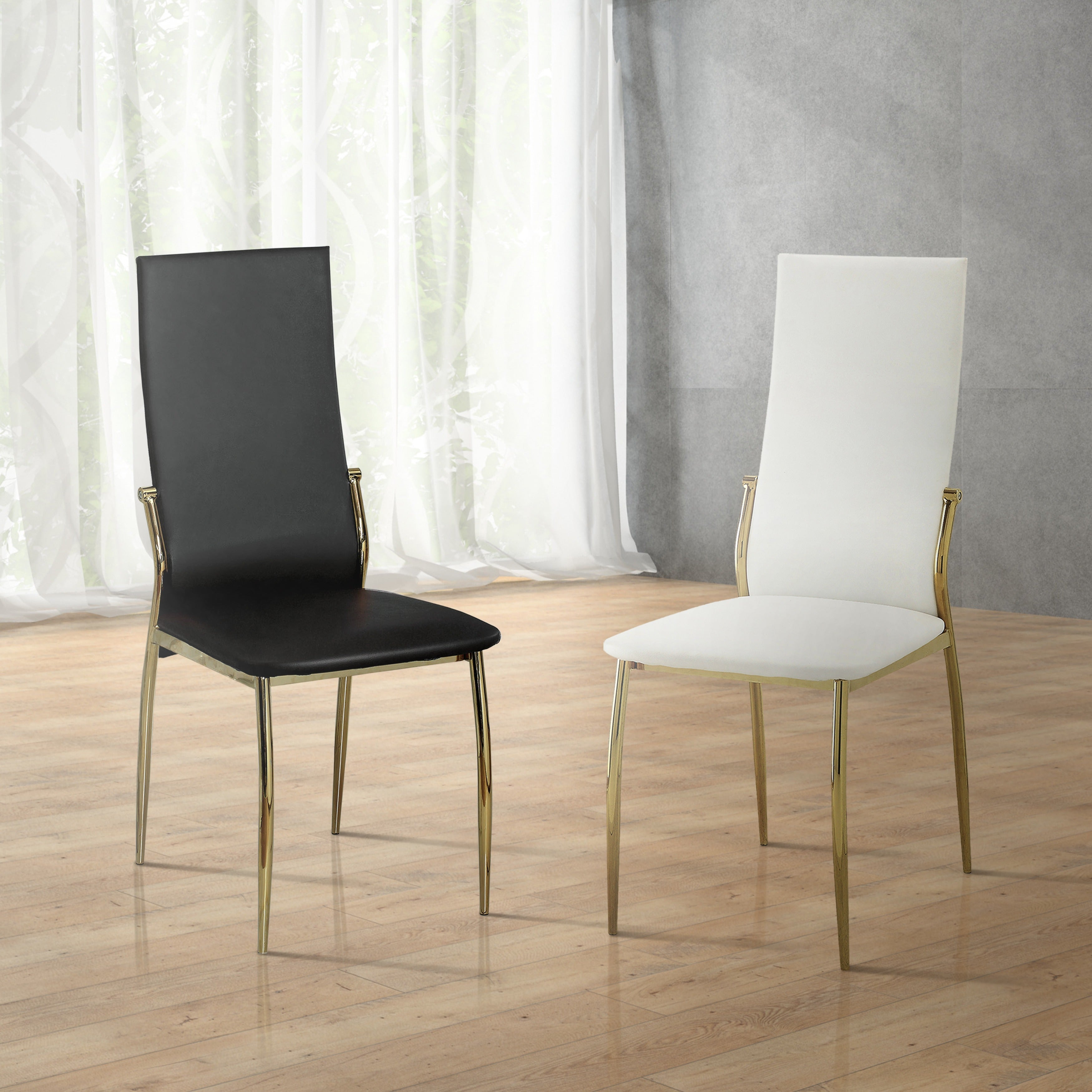 Ordinaire Clay Alder Home Antioch Modern Leatherette Dining Chairs (Set Of 2)