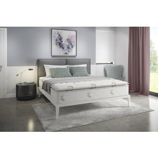 Pillow Top Innerspring 11 Inch King Size Mattress In A Box