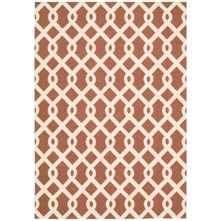 Waverly Sun N' Shade Centro Campari Area Rug (4'4 x 6'11) by Nourison