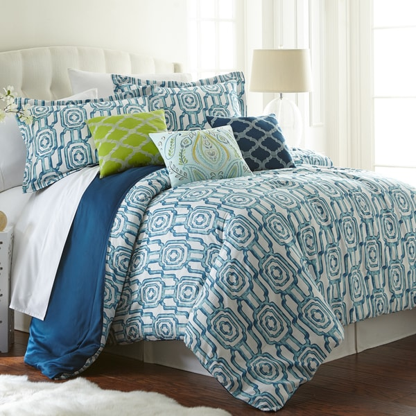 Amraupur Overseas Edna Cotton 6-piece Comforter Set