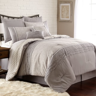 Amrapur Overseas Camila Pleated 8-piece Comforter Set