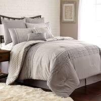 Amraupur Overseas Camila Pleated 8-piece Comforter Set