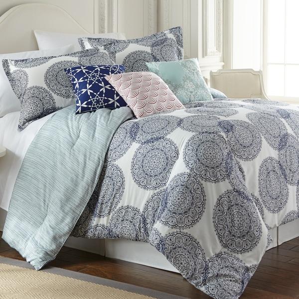Amraupur Overseas Selena Cotton 6-piece Comforter Set