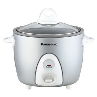 Panasonic 3-Cup Rice Cooker Silver