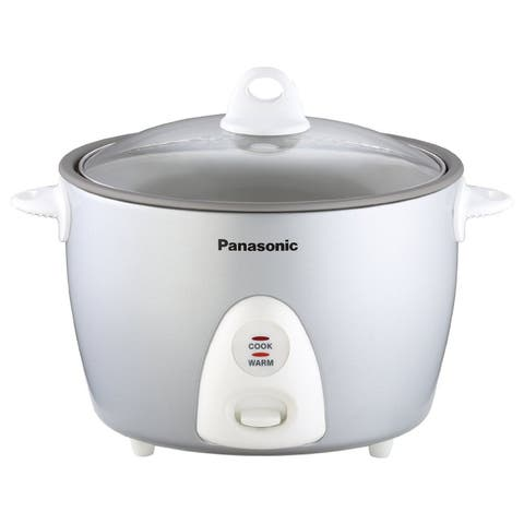 Panasonic 10-Cup Rice Cooker and Steamer Silver