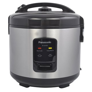 Panasonic 10-Cup Rice Cooker and Steamer Black