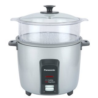 Panasonic 12-Cup Rice Cooker and Steamer Silver