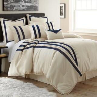 Amraupur Overseas Marseille Jacquard 8-piece Comforter Set