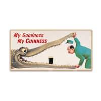 Guinness Brewery 'My Goodness My Guinness XVI' Canvas Art