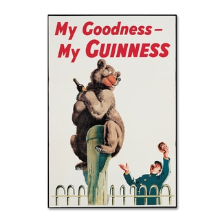 Guinness Brewery 'My Goodness My Guinness XV' Canvas Art