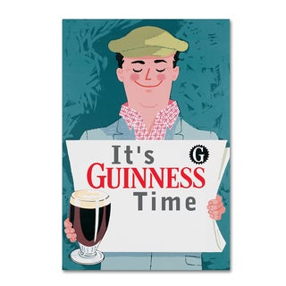 Guinness Brewery 'It's Guinness Time' Canvas Art