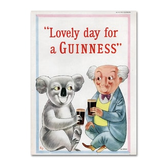 Guinness Brewery 'Lovely Day For A Guinness XII' Canvas Art